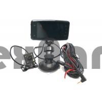 """DVR-921  Автомобильный видеорегистратор с дополнительной камерой """"Eplutus"""""""