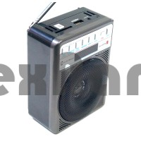 """LB-A55FM Радиоприёмник с USB флеш проигрывателем """"Luxe Bass"""""""