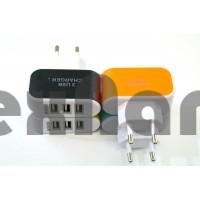 Адаптер 3 USB  (5.1V/3.1A)