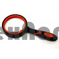 50mm 10X (665) Лупа черная резиновая