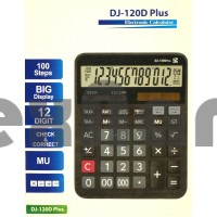 DJ-120D 12- Разрядный Калькулятор с чеком