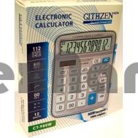 CT-980W Калькулятор 12-ти Разрядный с чеком