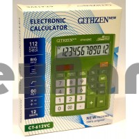 CT-612VC  Калькулятор 12-ти Разрядный с чеком.