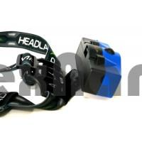 H-T517 Аккумуляторный налобный фонарь COB+LED