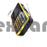 HN-305LED Аккумуляторный Радиоприемник с USB/SD проигрывателем