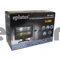 EP-102T EPLUTUS Цифровой телевизор 10 дюймов