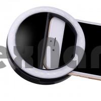 Светодиодное кольцо на батарейках (ААА)  для селфи RING LIGHT