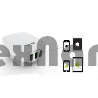 "DL-AC65""LDNIO"" USB Адаптер на 3USB 3.4A /+USB Cable iPhone 5/6/7"