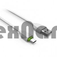 "LS07 ""LDNIO"" USB кабель 2.4A  micro, длина 1000mm (Резина)"