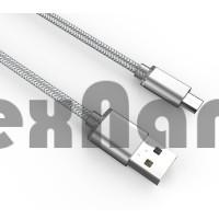 "LS17  ""LDNIO"" USB кабель micro, длина 2000mm ( В оплетке)"