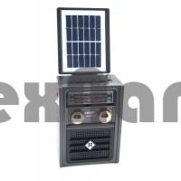 NS-1592BTS Аккумуляторный радиоприемник с солнечной панелью /LED фонарь/USB/SD/ Bluetooth