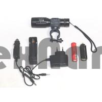 QF-527-1 T6 Аккумуляторный ручной фонарь с поворотным кронштейном