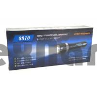 8810 Электрошокер фонарь с зумом