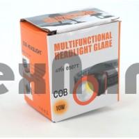 0507T COB Налобный фонарь ( работает от трех батареек ААА )