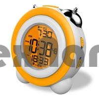 GH0705 Электронные часы/будильник с подсветкой, работают на трех батарейках ААА