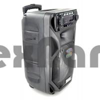 """MR-106 Колонка с Bluetooth/FM/SD/USB , На колесах с выдвижной ручкой. Динамик 12"""""""