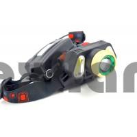 BL-T106-T6 Аккумуляторный налобный фонарь COB+LED