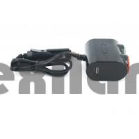 NO.1631 Разветвитель на 2 +1 USB 120W 12-24v