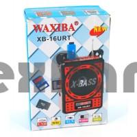 "XB-16 URT ""Waxiba"" Радиоприёмник с USB/SD Флеш проигрывателями"