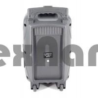 """BT-1839 Колонка с Bluetooth/FM/SD/USB , На колесах с выдвижной ручкой (Динамик """"8"""")"""