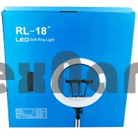 """RL-18 18"""" (45cm) Кольцевое освещение для съемки с пультом"""