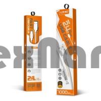 LS391LDNIO TYPE-C USB Кабель 2.4A 1000mm (быстрая зарядка)