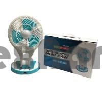 5580 Вентилятор аккумуляторный, настольный с подсветкой