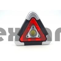 HB-6609 Аккумуляторный автомобильный фонарь/стоп сигнал/SOS/ на солнечной батареи