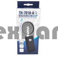TH-7018-A 80mm  Лупа ручная с 6 LED подсветкой/6х,25х