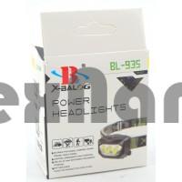 BL-935 COB Налобный фонарь ( работает от трех батареек ААА )
