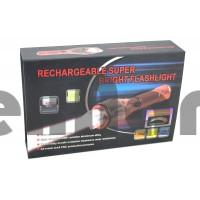 HL-TS40 T6  Аккумуляторный ручной фонарь с зумом