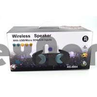 RS-8884 Boombox Портативная колонка с FM/CD/USB/Bluetooth/LED