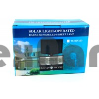 YD-1311 Настенный уличный фонарь, сенсорный,автовключение в ночном режиме/ аккумуляторный., С солнечной панелью