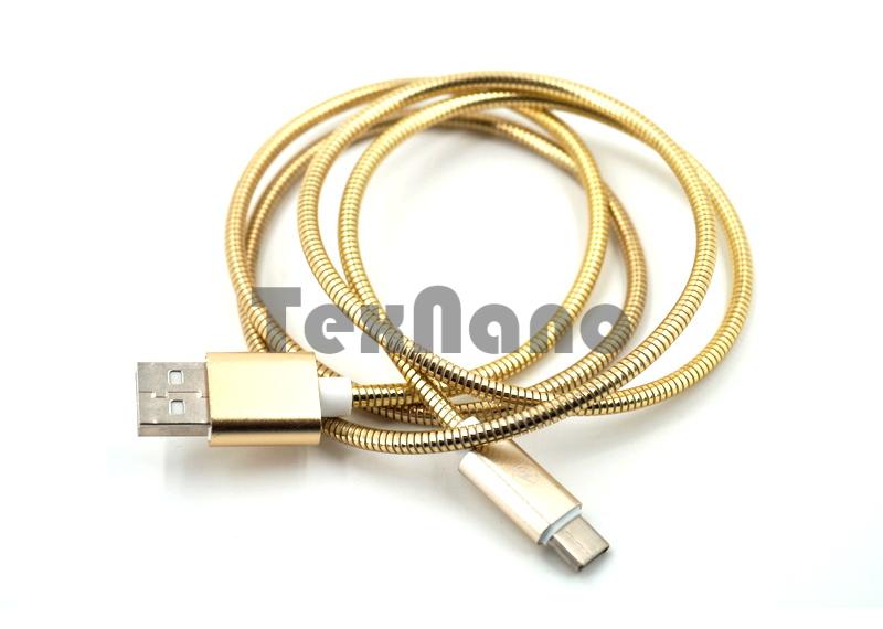 USB кабель металлический TYPE C