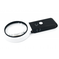 TH-7018-BD 90mm Лупа ручная с 6 LED подсветкой/10х,25х