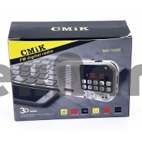 MK-109E Аккумуляторный радиоприемник с USB/SD/FM