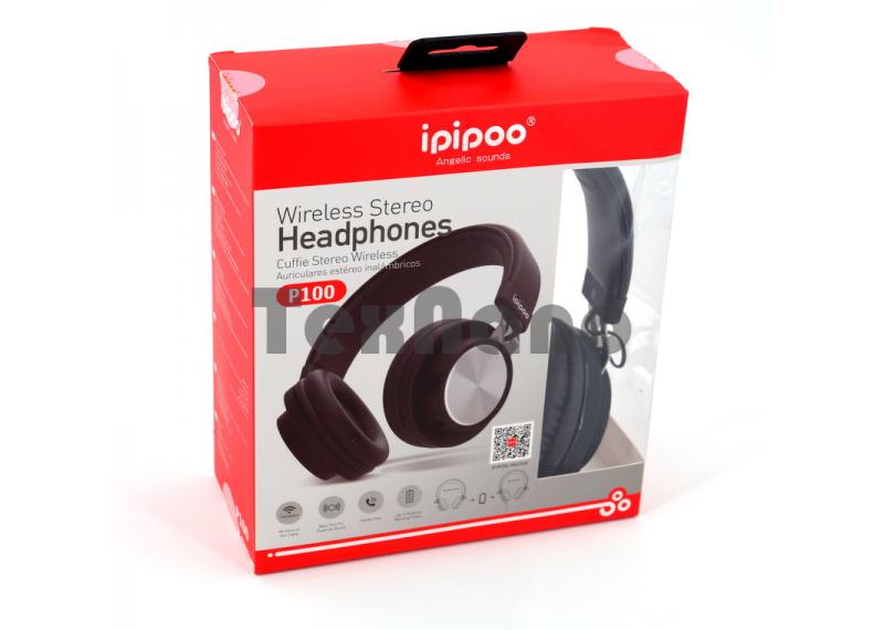 P100 iPiPoo Беспроводные наушники Bluetooth/FM