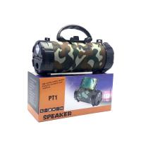 PT1 Портативная колонка с FM/CD/USB/Bluetooth/с фонариком