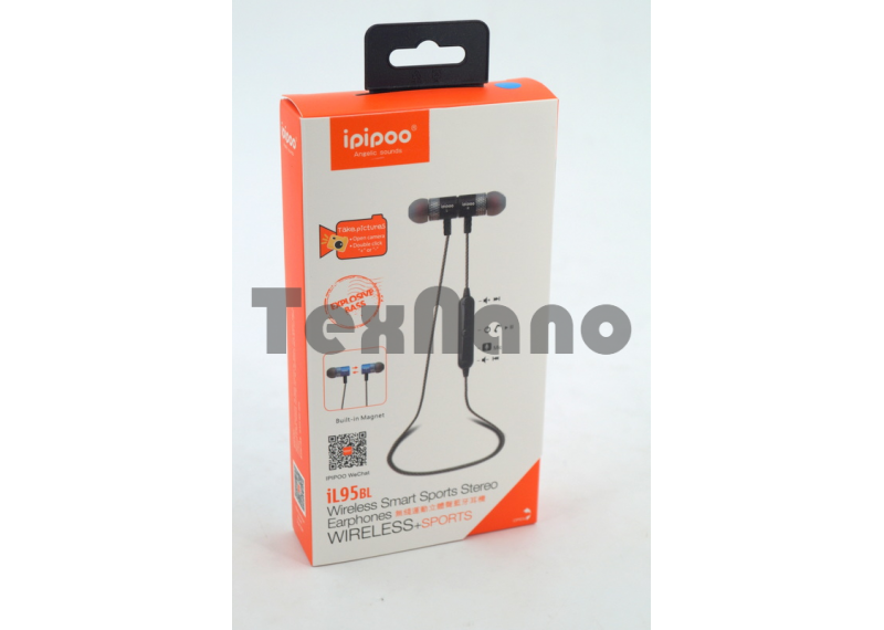 iL95BL Наушники с Bluetooth ( Магнитные)