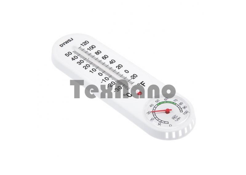Термометр,гигрометр, уличный спиртовой, белый