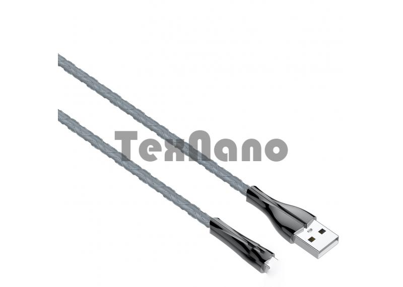 LS461LDNIO MICRO USB Кабель 2.4A 7 Color LED Индикатор