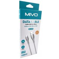 MX-22M Mivo USB Кабель Micro/Android 1000mm 2.4A