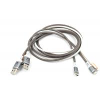 Светящийся USB Кабель Micro, Android   ( встроенный микрофон, реагирует на звук)