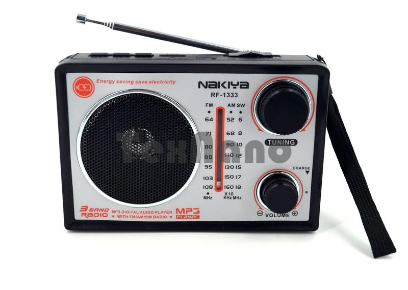 RF-1333 Радиоприёмник с USB/SD Флеш проигрывателями