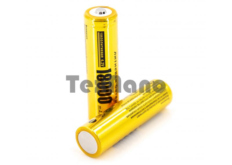 Аккумулятор 18650 4.2V 18000 mAh