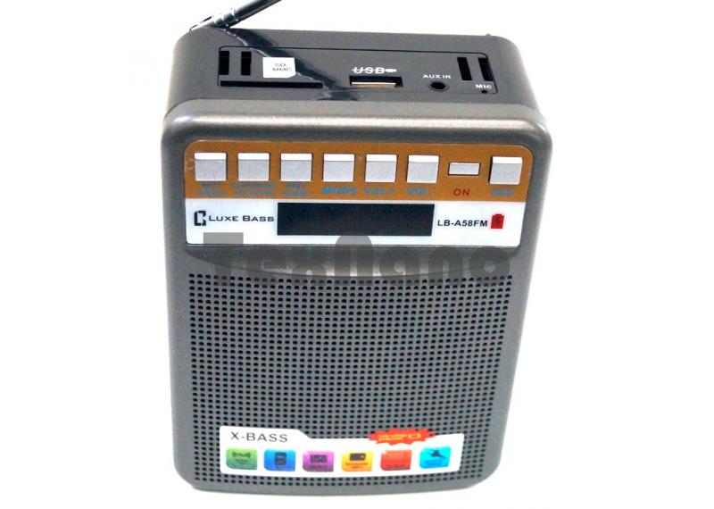 LB-A58FM Радиоприёмники с USB флеш проигрывателями, с  Bluetooth