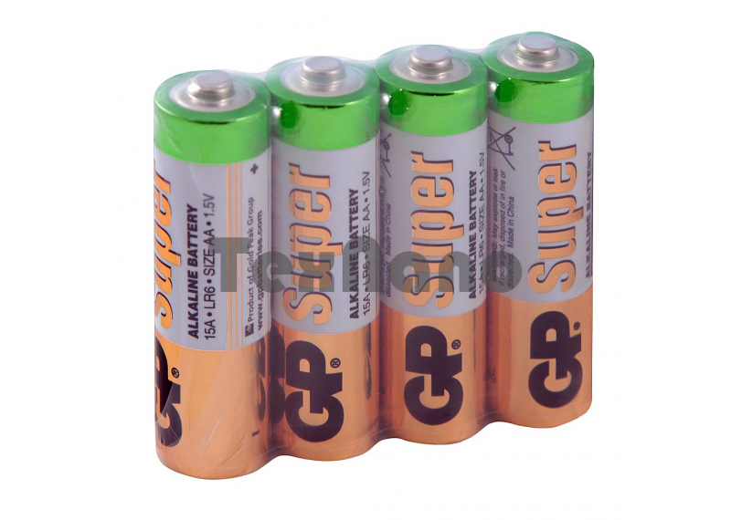 AA Super Alkaline  батарейки (4x24=96)