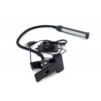 802 Настольная LED Лампа на прищепке/3 режима свечения/холодный/теплый/желтый