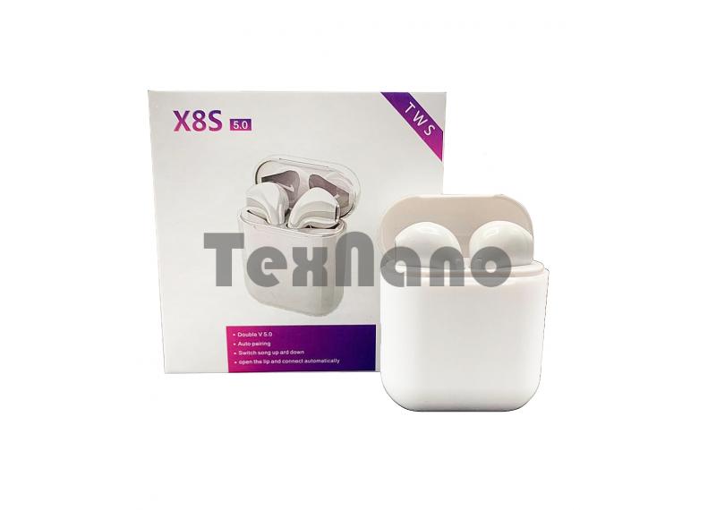 X8S-TWS 5.0 Bluetooth Беспроводные наушники совместимы с Android/ iOS