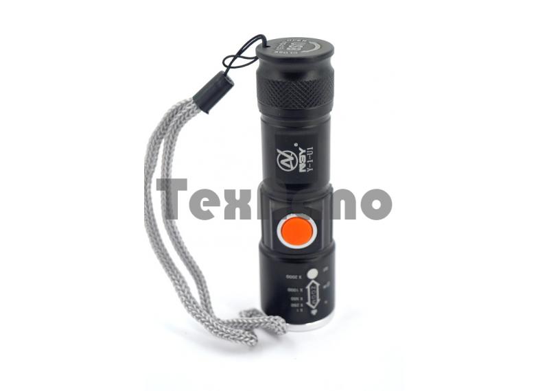 Y-1-U1-T6  USB Аккумуляторный фонарь